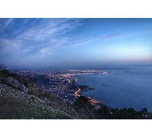 Italy by night Photographic Print