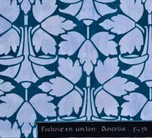 Etude de la Plante Maurice Pillard Verneuil 1903 221 Plant Study Botany Inverted Sticker