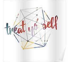 Treat yo' self - alternate Poster
