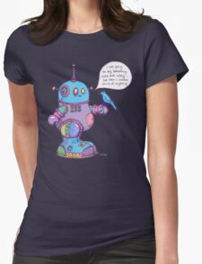 I was going to say something cute and witty...  Womens T-Shirt