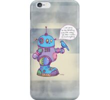 I was going to say something cute and witty...  iPhone Case/Skin