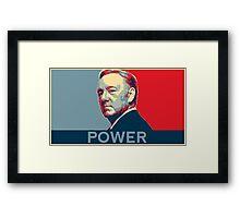 Underwood Power Framed Print