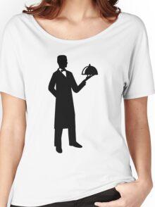Server waiter cloche Women's Relaxed Fit T-Shirt