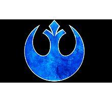Rebel Alliance blue starbird Photographic Print