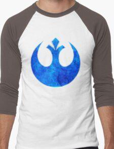 Rebel Alliance blue starbird Men's Baseball ¾ T-Shirt