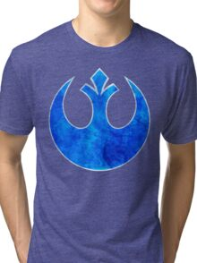 Rebel Alliance blue starbird Tri-blend T-Shirt