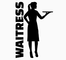 Waitress Womens Fitted T-Shirt