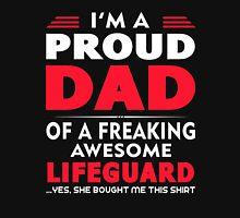 PROUD DAD OF A Lifeguard Unisex T-Shirt