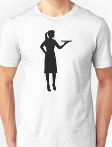 Waitress server Unisex T-Shirt