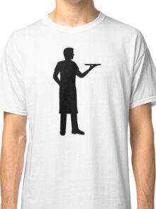 Server waiter Classic T-Shirt