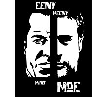 The two faces of Negan Photographic Print
