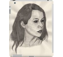 Portrait of Tatiana Maslany iPad Case/Skin