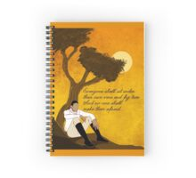 Vine and Fig Tree Artwork Spiral Notebook