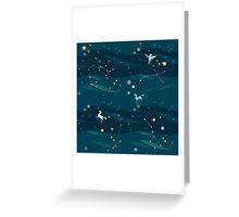 Fantasy universe Greeting Card