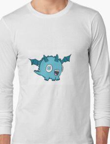 Sea Blue Baby Dragon Long Sleeve T-Shirt