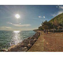 Italian Beach Photographic Print