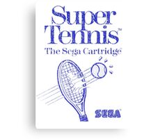 Super Tennis Canvas Print