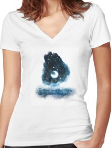 Loved the Stars Too Dearly Women's Fitted V-Neck T-Shirt