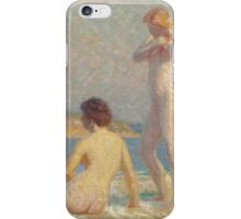 Lawton Silas Parker - Bathers iPhone Case/Skin