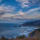 Evening on the Oregon Coast. by Bryan D. Spellman