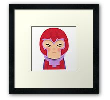 X-Men Animated Series Magneto Framed Print