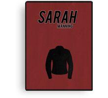 Sarah Manning minimalist poster Canvas Print