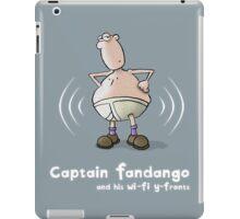 Captain Fandango and his Wi-Fi Y-Fronts iPad Case/Skin