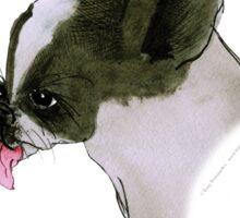 Boston Terrier, tony fernandes Sticker