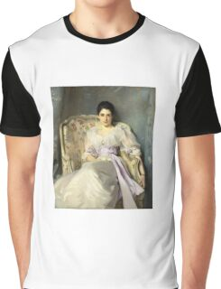 John Singer Sargent - Lady Agnew Of Lochnaw  Graphic T-Shirt