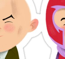 X-Men Animated Series: Professor X and Magneto Sticker