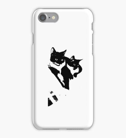 Tuxedo Cats iPhone Case/Skin