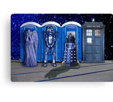 Port-a-TARDIS Canvas Print