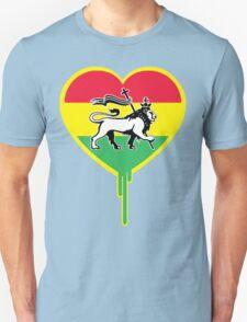 RASTA BLEEDING HEART T-Shirt