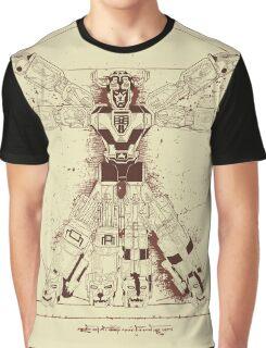 Voltruvian Man Graphic T-Shirt