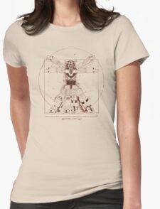 Voltruvian Man Womens Fitted T-Shirt