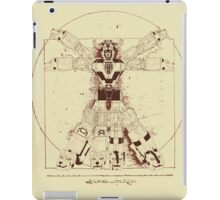 Voltruvian Man iPad Case/Skin