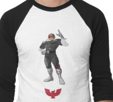 Captain Falcon  - Super Smash Brothers Men's Baseball ¾ T-Shirt
