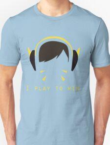 D.va I Play To Win Carbon Fiber T-Shirt