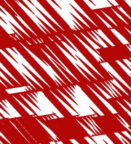 Zacken rot Sticker