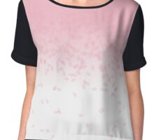 Cherry Blossom Rain Chiffon Top