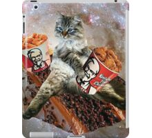 bff kfc cat iPad Case/Skin