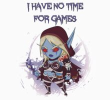 Sylvanas - No time for games Baby Tee