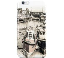 Two Boats Resting - Cornwall iPhone Case/Skin