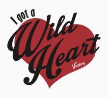 I got a Wild Heart Kids Tee