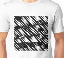 Zacken schwarz Unisex T-Shirt