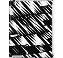 Zacken schwarz iPad Case/Skin