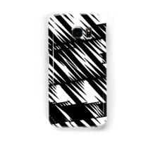 Zacken schwarz Samsung Galaxy Case/Skin