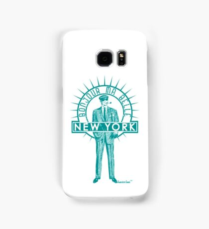 Bonjour ma belle New York by Francisco Evans ™ Samsung Galaxy Case/Skin
