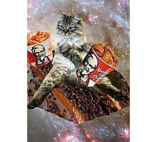 bff kfc cat Photographic Print