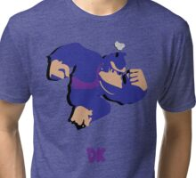 Donkey Kong - Super Smash Brothers Tri-blend T-Shirt